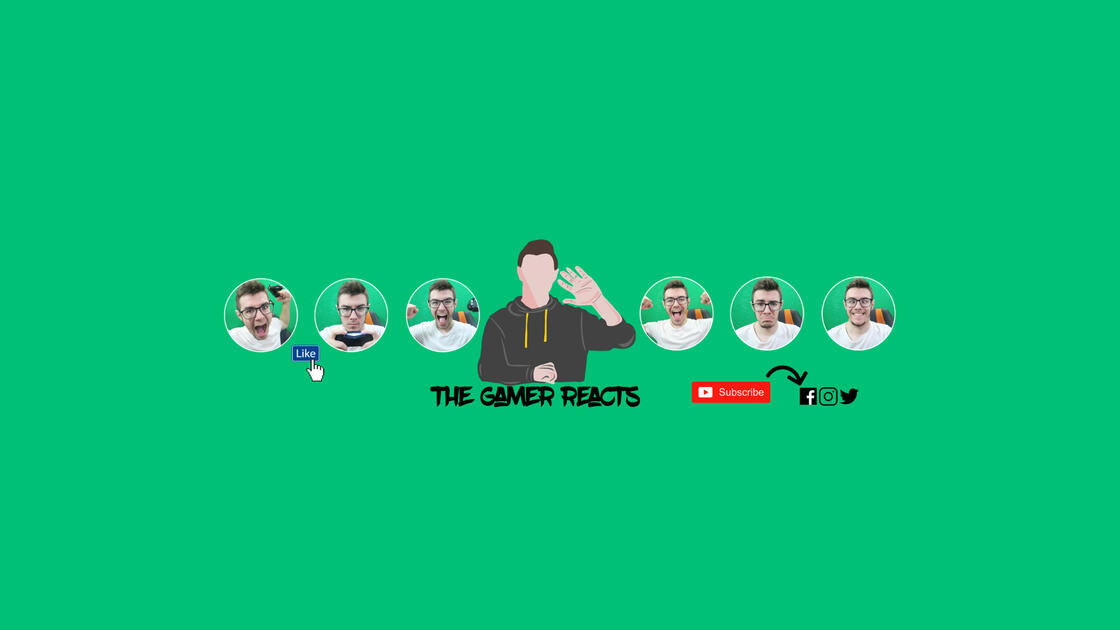 The Gamer Reacts YouTube Banner